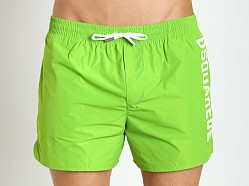 DSQUARED Swim Shorts Fluo Lime