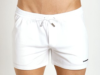DSQUARED Piquet Chic Shorts Optical White