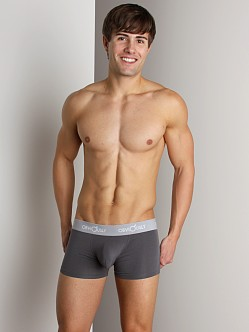 Obviously Low Rise Boxer Briefs Dark Grey