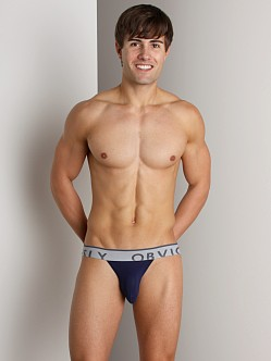 Obviously Chromatic Low Rise Jockstrap Midnight Blue