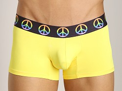Candyman Neon Effect Peace Boxer Yellow