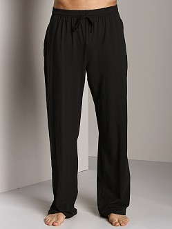 Hugo Boss Cotton Lounge Pants Black