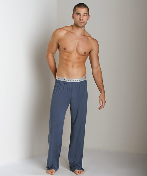 Hugo Boss Modal Lounge Pants Blue