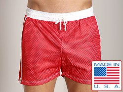Pistol Pete Bermuda Short Red