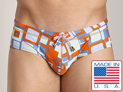 Pistol Pete Retro Brief Orange
