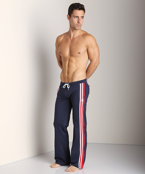 Pistol Pete Jock Pant Navy/Red