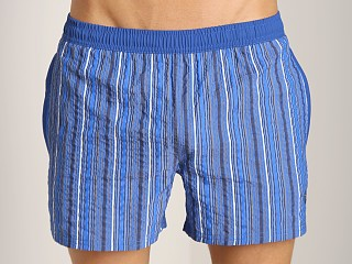 Complete the look: Hugo Boss Spadefish Swim Shorts Blue