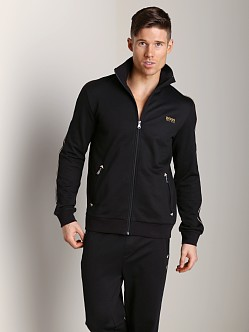 Hugo Boss Innovation 6 Zipper Jacket Black