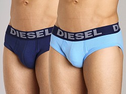 Diesel Andre Brief 2-Pack Blue/Light Blue