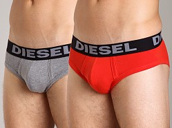 Diesel Andre Brief 2-Pack Red/Grey