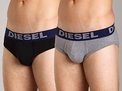 Diesel Andre Brief 2-Pack Black/Grey