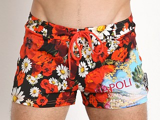 You may also like: Sauvage Italian Retro Swim Trunk Napoli Print