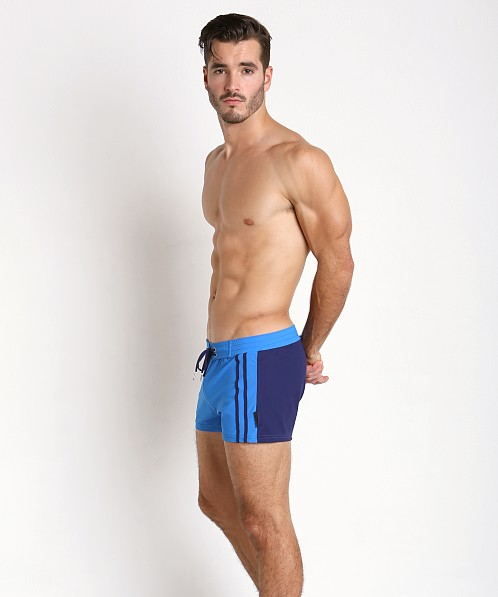 b777977698a89 Sauvage Moderno Swim Trunk Royal/Navy 212ROY at International Jock