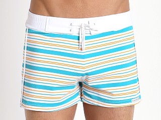 You may also like: Sauvage Como Italia Stripe Swim Trunk Seafoam
