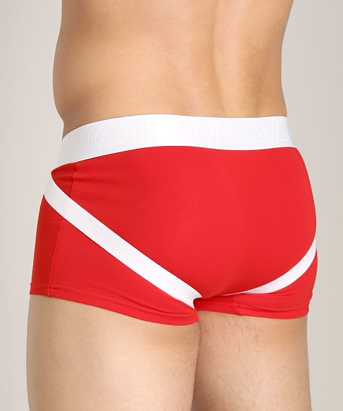 Modus Vivendi Studded Double Boost Boxer Red