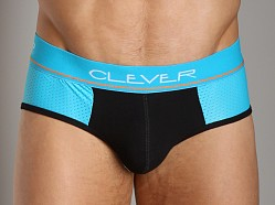Clever Mesh Back Low-Rise Brief Blue/Black