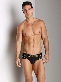 Clever Cotton Mesh Brief Black