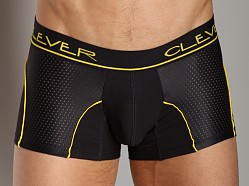 Clever Cotton Mesh Boxer Black/Yellow