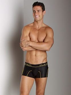 Clever Cotton Mesh Boxer Black