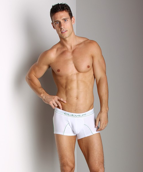 Clever Cotton Mesh Boxer White