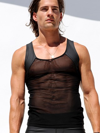 Complete the look: Rufskin Lark Stretch Mesh Tank Top Black