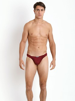 Ergowear FEEL Suave Thong Burgundy