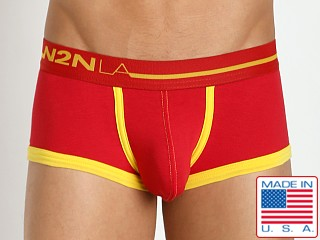 N2N Bodywear Primary Colors Boxer Red
