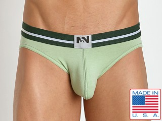 N2N Bodywear Fresh Brief Mellow Green