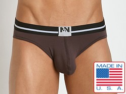 N2N Bodywear Fresh Brief Deep Brown