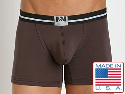 N2N Bodywear Fresh Boxer Deep Brown