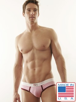 Go Softwear Pink/Burgundy Lo-rise Briefs
