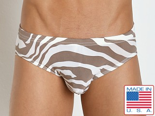 N2N Bodywear Safari X Swim Brief Coco