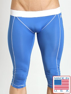 N2N Bodywear Tritech Spandex Runner Royal/White