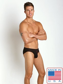 N2N Bodywear Lodge Brief Black