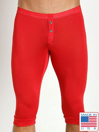 N2N Bodywear Lodge Mid Johns Red