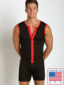 N2N Bodywear Lodge Onezee Black