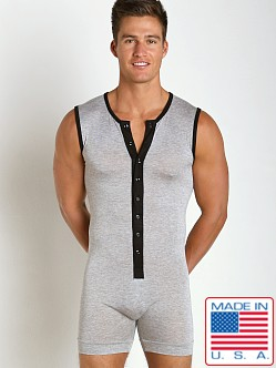N2N Bodywear Lodge Onezee Heather Gray