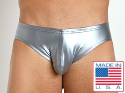 N2N Bodywear Liquid Skin Brief Silver