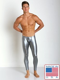 N2N Bodywear Liquid Skins Low Rise Tight Silver