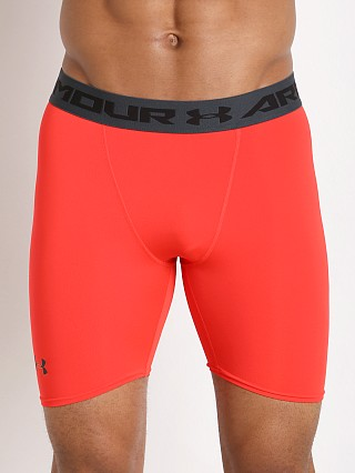 Under Armour Heatgear Compression Short Rocket Red