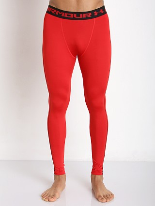 Under Armour Heatgear Compression Legging Red