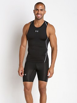 Under Armour Heatgear Compression Tanktop Black