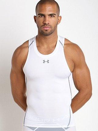 Under Armour Heatgear Compression Tanktop White