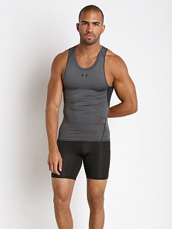 Under Armour Heatgear Compression Tanktop Carbon Heather