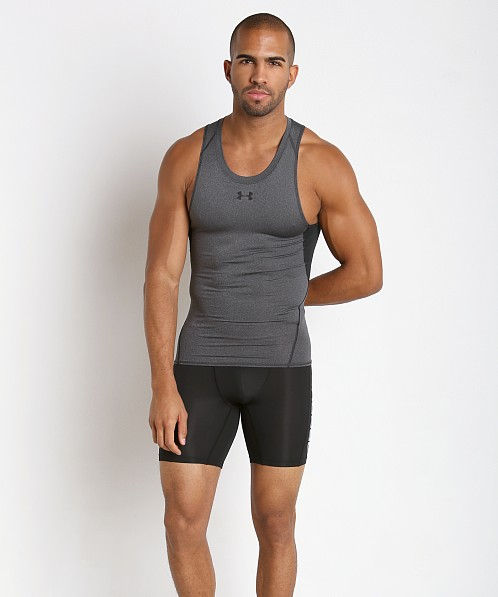 top-rated quality biggest selection wholesale price Under Armour Heatgear Compression Tanktop Carbon Heather