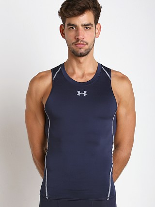 Under Armour Heatgear Compression Tanktop Midnight Navy