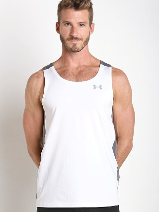 Under Armour Coolswitch Running Tanktop White