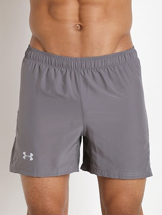 "Under Armour Launch 5"" Running Short Graphite"