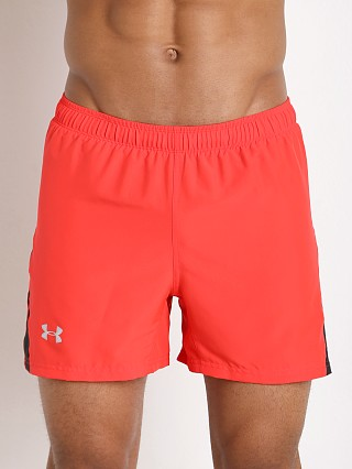 "Under Armour Launch 5"" Running Short Rocket Red"