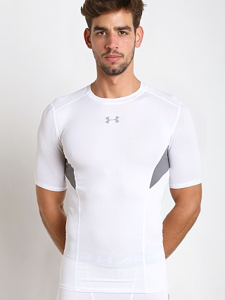 Under Armour Coolswitch Compression Shortsleeve Tee White